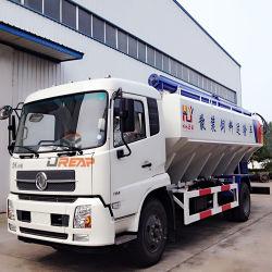 A descarga elétrica Dongfeng 23-25 M3 camião de transporte de alimentos para animais a granel