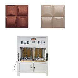 Riga di fabbricazione del pannello a sandwich del poliuretano per il comitato di parete di cuoio 3D