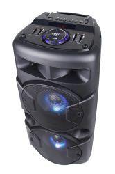 6.5inch無線天面のBluetoothの二重カラオケEQ機能のLEDライトが付いている再充電可能なDJのマルチメディアのスピーカー