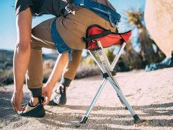 Trípode portátil Packseat al aire libre Camping Deporte heces