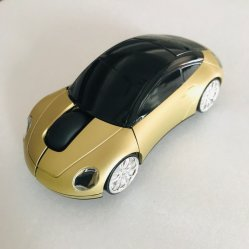 Kreative Karikatur-drahtlose Maus, goldene Maus, Maus-USB-Spiel-Büro des Auto-3D anwendbar