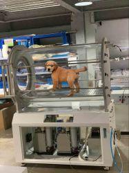 De macy-pan Kamer van de Zuurstof van het Gebruik van Hbot van de Capsule van de Zuurstof Dierlijke Hyperbaric