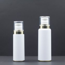 55ml/105ml 플라스틱 포장 맞춤형 로고 로션 병 화장품 포장