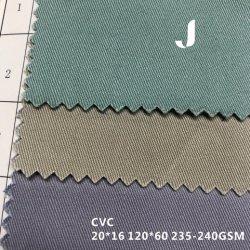8.5Oz Anti-Tearing 60 Algodão/40 Tecidos de poliéster para vestuário de trabalho
