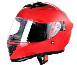 Un punto de cara completa de alta calidad de piezas de moto casco de motocicleta