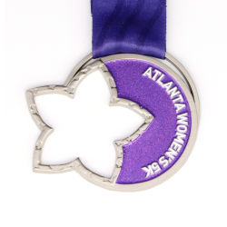 Kundenspezifischer heißer Verkaufs-preiswerter Metallsport, der Marathon-Medaille für Andenken laufen lässt