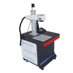 Mini portable la fibre métallique marqueur laser de marquage laser YAG de gravure de gravure de la machine pour le logo de la numérotation d'impression sur du plastique