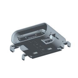 오래 6.5mm 단 하나 줄 3.1 유형 C Connetor PCB SMT USB 예비 품목은 전자 기계설비 0.8mm 소비자 가라앉는다