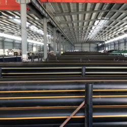 Qualität HDPE Rohr 20mm für Gas-Systeme mit gelber Zeile