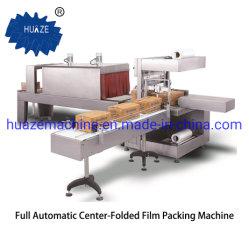 Automatic L Bar film termoretráctil Shrinkable Paquete para cajas de cartón con CE