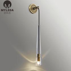 壁のSconceカスタム産業明確なガラスLEDの壁の照明設備の浴室の照明