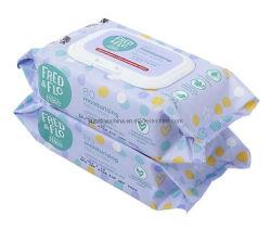 Le salviette per bambini OEM sono personalizzate in fabbrica per il comfort e il morbido tocco bagnato Salviette per tessuti salviette per bambini umide senza alcool