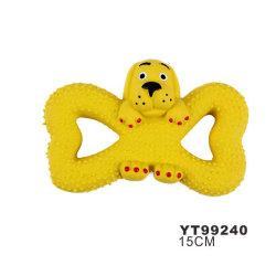 La forme d'animaux produits en PET Squeak chien Latex99240 Chew jouet (YT)