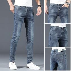 Custom hommes denim Jeans Pantalons Fashion Fashion Pantalon Slim Denim Garment