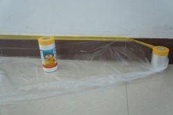 Le PEHD Film avec du ruban de masquage peinture pour intérieur