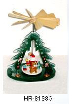 木のクリスマスの装飾(HR-8198G)