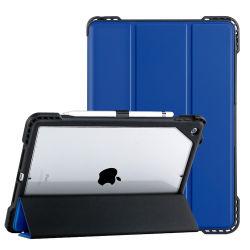 أغلفة Amazon 2021 الجديدة المقاومة للسقوط لجهاز iPad 11 من الجلد الذكي حقيبة لجهاز iPad 8 iPad 10.2 iPad 10.9
