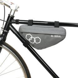 حقيبة تخزين ذات إطار دراجة هوائية مقاومة للماء حقيبة تخزين ذات إطار مثلث حزمة أدوات مفاتيح محفظة الهاتف