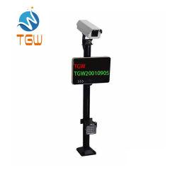 Carro de sistema CCTV gratuito Sistema Inteligente de reconhecimento de matrículas Lpr Câmara IP