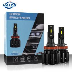 مصباح الضباب التلقائي H7/H4 LED من Hizg H3/H11 لمصباح LED للسيارة 9005 9006