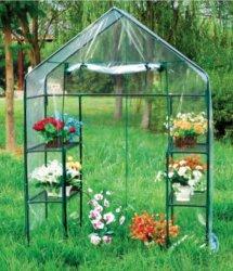 홈을%s 소형 꽃 뜰을 만드는 PVC 온실 원예용 도구 & 부속품