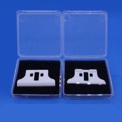 شفرة حلاقة خزفية بيضاء Zirconia من السيراميك لآلة حلاقة الشعر