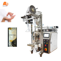 Bg Sachet shampoing crème de la peau Machine de Conditionnement Sachet corps liquide de lavage machine d'emballage