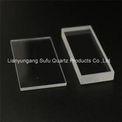 광학적인 투명한 UV 수정같은 유리창 얇은 석영 격판덮개