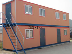 Flexible Größe, Preisgünstiges Fertighaus/Container-Haus