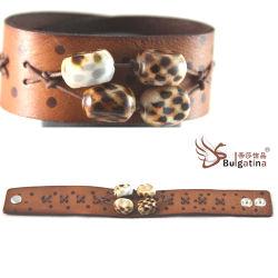 Кожаный браслет (BR008)