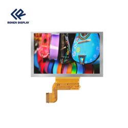 شاشة TFT 800*480 مقاس 5.0 بوصة مزودة بشاشة LCD تعمل باللمس مزودة بواجهة RGB/MCU وحدة شاشة العرض