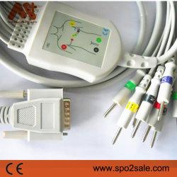 호환 가능한 Nihon Kohden BJ-901d Direct-Connect EKG 케이블