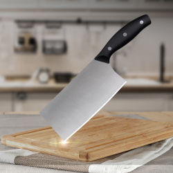 PP Handle Stainless Steel Kitchen Chef Knives Slicing Vegetable Carving Meat Butcher Chopper Knife를 가진 중국 Cleaver Knife
