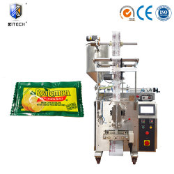 Sauce tomate automatique/Confiture de fraises/sauce citron Tetra Pak Triangle Machine d'emballage Package