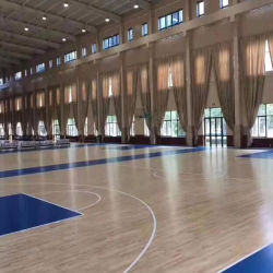 Indoor Basketball Courtのための木製のSurface PP Interlocking Tiles Sport Flooring