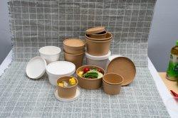 Ciotola di insalata del contenitore di carta di alimento