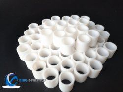 Peek Nylon POM PTFE PTFE de roulement en plastique de buissons les joints en plastique des roulements à billes