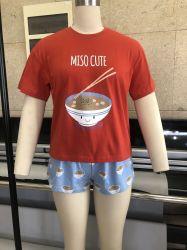 Van de Katoenen van 100% het Kostuum van het Af:drukken van de Borrels T-shirt van de Zomer