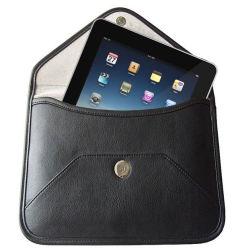 黒い色で利用できるiPadのための革箱