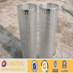 3mm Roll Bending Round Hole Perforated Metal Mesh (LT-013)