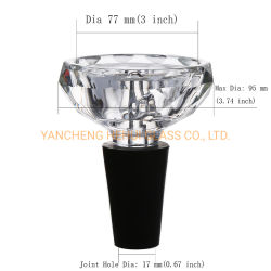 고품질 에이미 디럭스 다이아몬드 후카 유리 크리스탈 헤드 핏 활성탄 열 관리