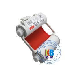 Bepop 최대 수지 빨간 카트리지 색깔 열 이동 인쇄 기계 리본