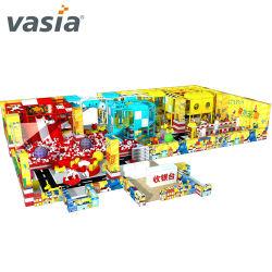 Vorschulspiel-Geräten-Süßigkeit-Thema-Innenspielplatz-Spaß für Kind