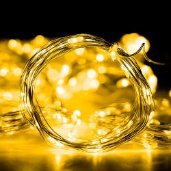 مصابيح ستارة النافذة، 300 مصباح خيط LED، 8 أوضاع إضاءة، مصابيح ديكور مقاومة للماء لخلفية حفلة زفاف في الهواء الطلق