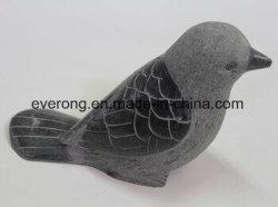 Sculptures de Pierre de granit animaux oiseaux Sculpture dans le commerce de gros pour la décoration d'accueil