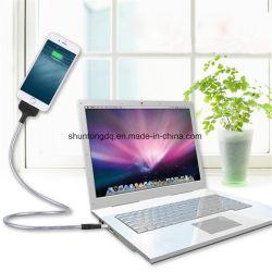 Flexibler Fastfood- USB-aufladenstandplatz-Kabel-Telefon-Aufladeeinheits-Halter für androide Telefon-Halter P0.11 Apple iPhone Samsung-Huawei