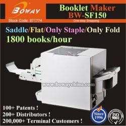 Sattel Flat Falz Automatischer Katalog Broschüren Magazin Manu Book Stitching Machine