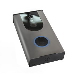 حلقة [هوم سكريتي] [ويفي] مرئيّة باب هاتف مع داخليّ لون موسيقى جهاز لقرع الجرس