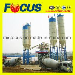 Hzs35 35m3/H Mini Usine Readymix Planta de mistura de concreto para a Argélia