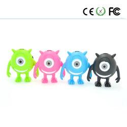 La tarjeta One-Eyed reproductores de MP3 MP3 de la tarjeta de lindo Mini